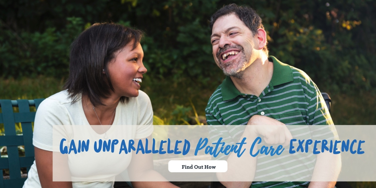 Gain unparalleled patient care experience