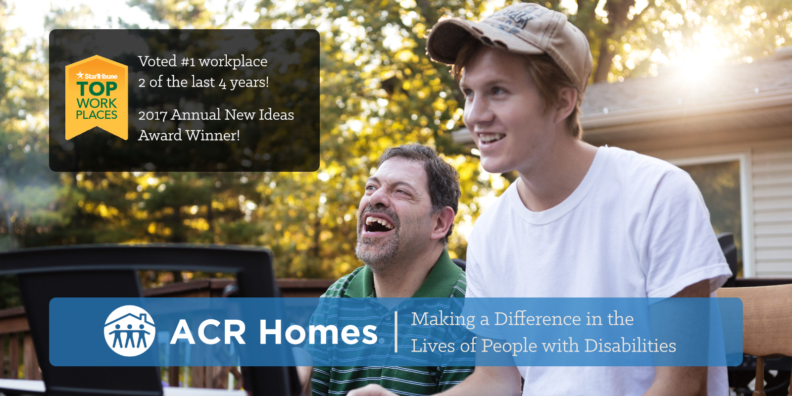 ACR Homes Making a Difference in the Lives of People with Disabilities