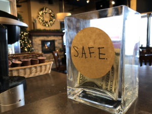 ACR SAFE jar in J Arthur's