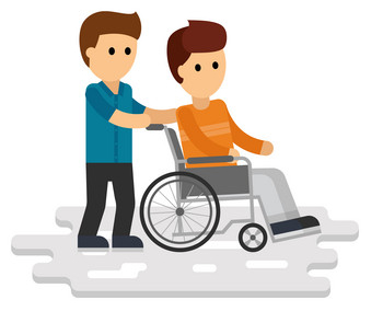 disability-person-flat-young-disabled-vector-13725802