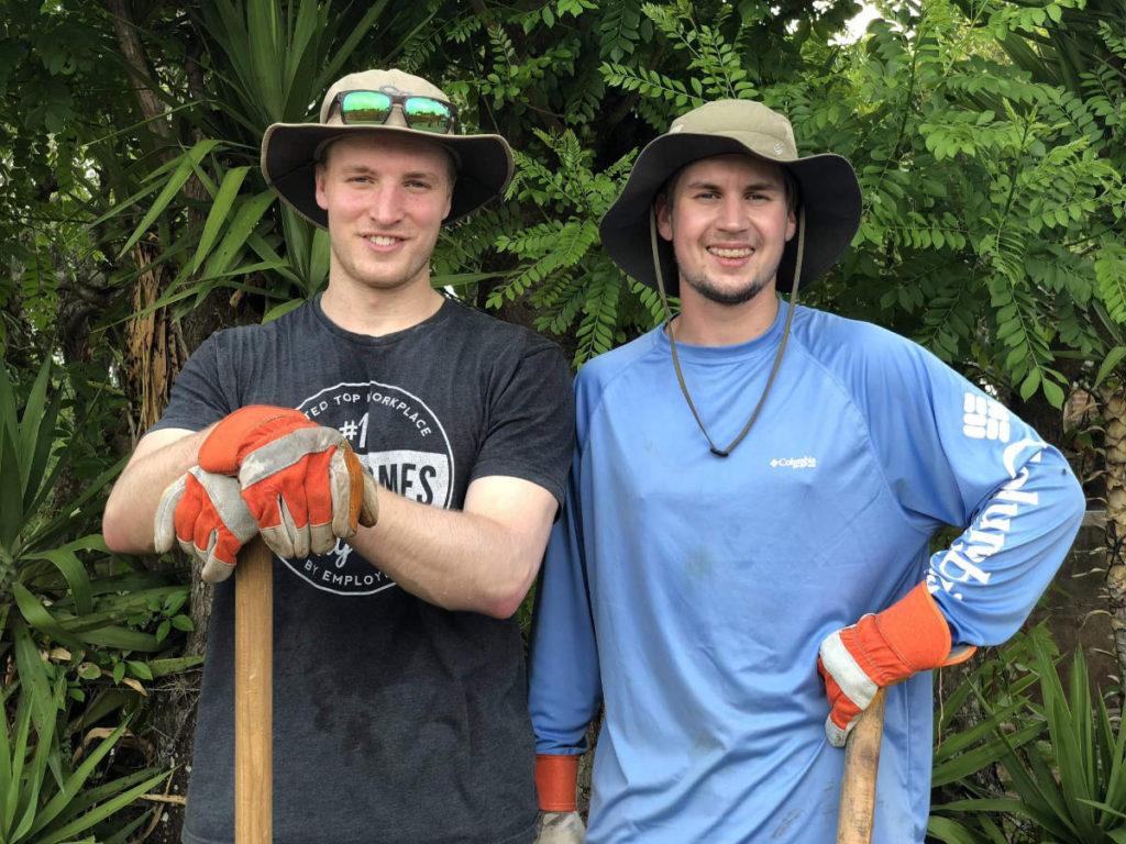 Luke and mentor Nik