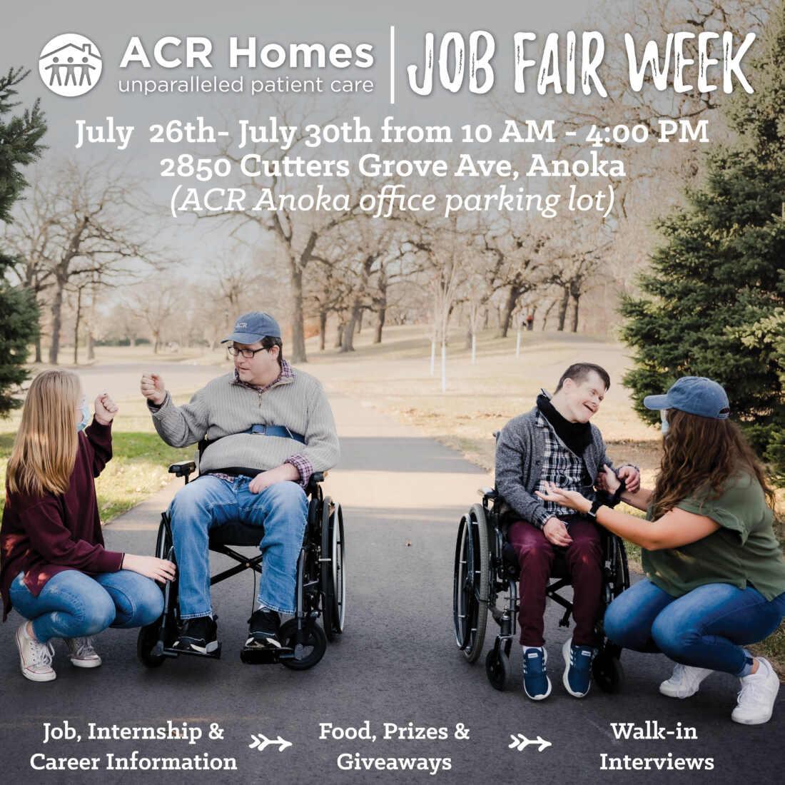 Instagram Job Fair Week July 26-30th