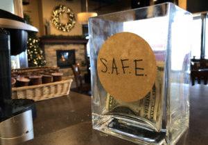 ACR SAFE jar in J Arthur's