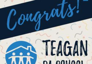 Congrats Teagan IG